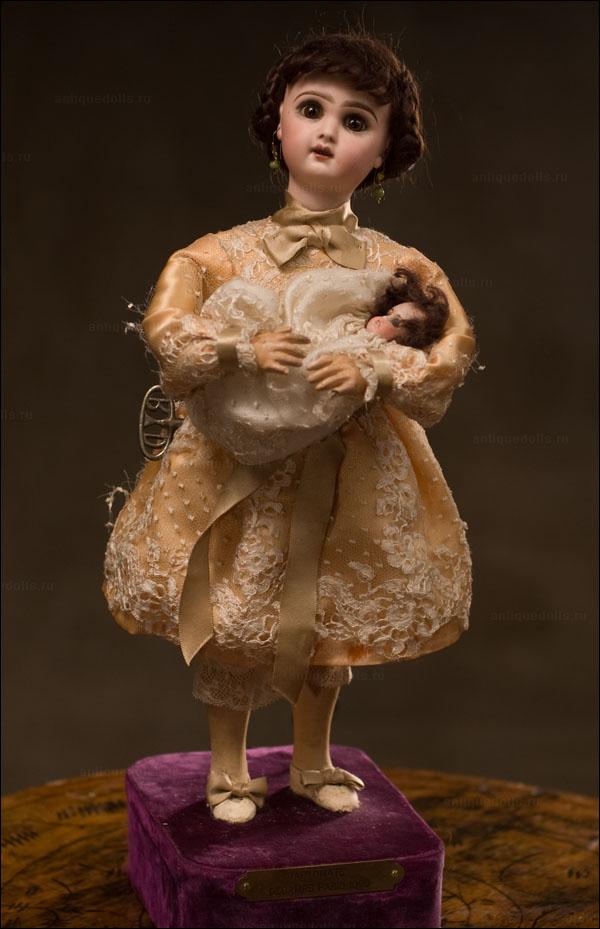 МУЗЕЙНАЯ РЕДКОСТЬ! Французский музыкальный автомат фирмы Roullet & Decamps с куклой JUMEAU - Париж, 1895-год.