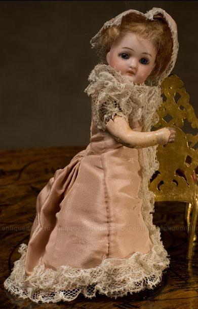 Немецкая кукла фирмы Simon & Halbig,1880-е годы, 17 см