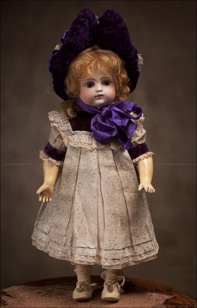 Ранняя кукла GAULTIER с закрытым ртом