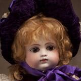Ранняя кукла Готье с закрытым ртом