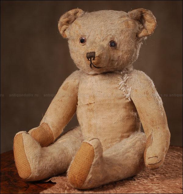 Мишка Тедди, предположительно Франция, 1910-1920е годы.