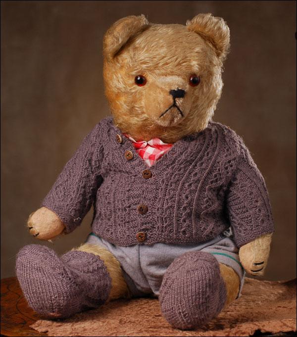 Мишка Тедди, Германия, 30-40е годы.