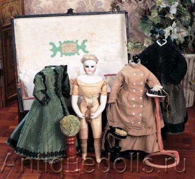 французская кукла 1850-х